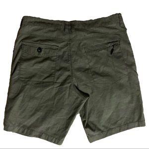 Billabong Dark Green Stripped W34 Shorts